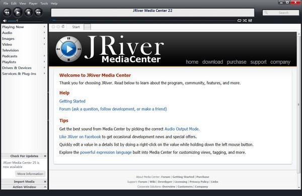 JRiver Media Center下载