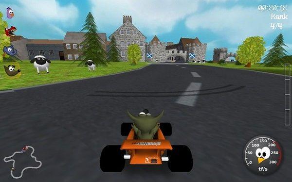 开源3D卡丁车游戏下载