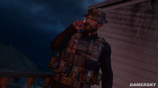 钱队亮相!《COD》吃鸡演示男神威武 抽烟打枪超凶猛