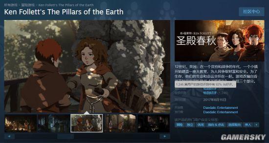《圣殿春秋》Steam史低促销 现价24元游戏特别好评