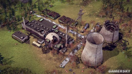 Steam城市建造类新作预告:核灾难150年后重建家园