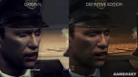 《四海兄弟2》原版与决定版对比 模型光影高下立判