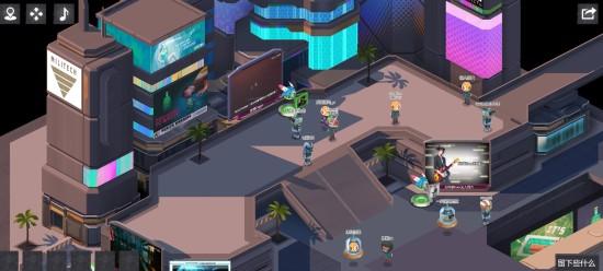 B站推出《2077》网页虚拟游乐场 能和UP主隔空对话