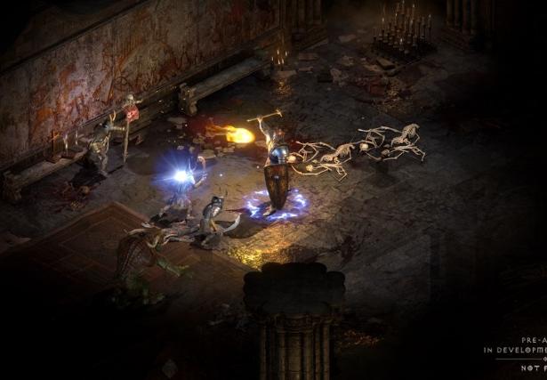 暗黑破坏神2重制版正式公布 2021年上线支持全平台4K