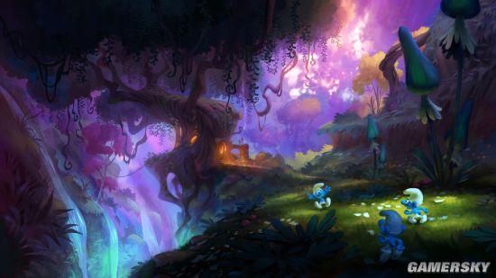 《蓝精灵》游戏年底发售 系列五年内还将推出四款