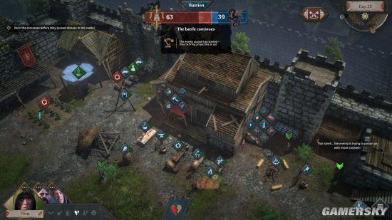 《征服的荣耀:围城》5月18日发售 中世纪生存策略
