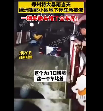河南郑州奔驰堵车库主人是谁?河南奔驰车堵车库事件最后怎么处理会有什么惩罚