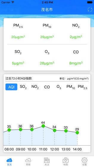 茂名空气质量软件截图1