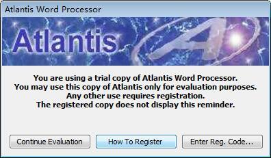 Atlantis Word Processor(文字处理软件)下载