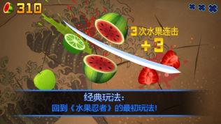 水果忍者(Fruit Ninja)软件截图0