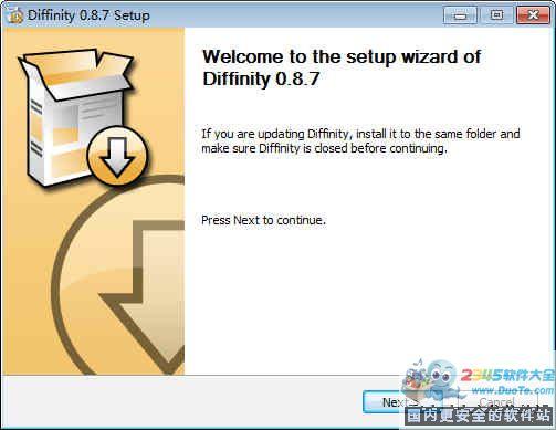 Diffinity(代码对比工具)下载