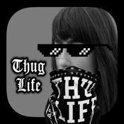 Thug Life 照片 编辑 贴纸 制作者