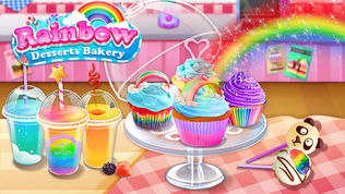 彩虹甜品烘焙屋软件截图0