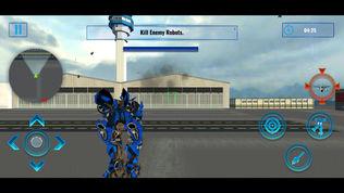 青苔战士机器人飞机软件截图1