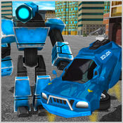 未来派机器人警察