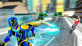 城市超级英雄电工