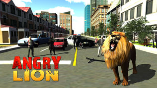 愤怒的狮子攻击3D软件截图0