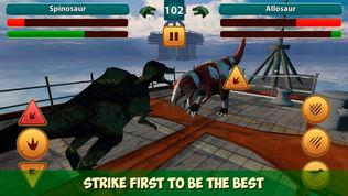 恐龙雷克斯战斗作战模拟器软件截图1