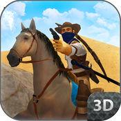西部牛仔骑马模拟器