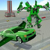真实 机器人 战斗 VS 飞行 汽车 游戏