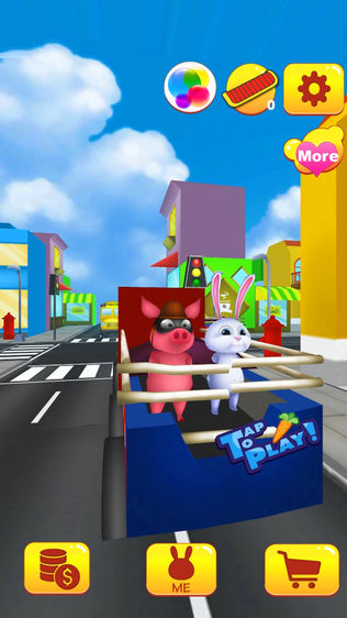 最好的无尽游戏 免费赛车游戏 玩转3D