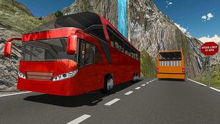 越野山地长途公共汽车驾驶模拟器 2017软件截图0