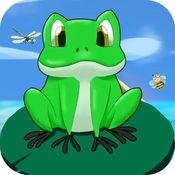 青蛙跳一跳旅行小游戏