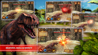 Dinosaur Fighting Game | T软件截图1