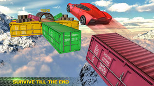 Impossible Tracks Car Drive软件截图1