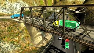 市交通运输卡车停车场疯狂3D软件截图1
