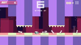 Bonecrusher: Free Awesome Endless Skull & Bone Game软件截图2