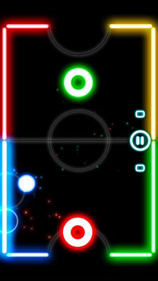Glow Hockey 2L软件截图0