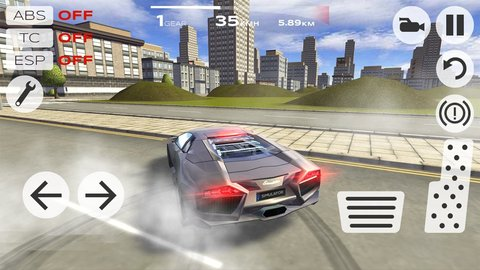 超级极限汽车模拟驾驶游戏软件截图0