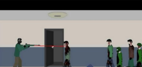 走廊射杀僵尸中文版软件截图3