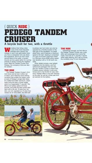 Electric Bike Action Magazine软件截图2