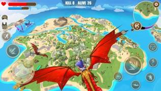 迷你恐龙世界3:吃鸡战场软件截图1