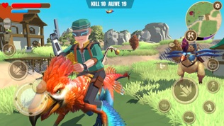 迷你恐龙世界3:吃鸡战场软件截图2