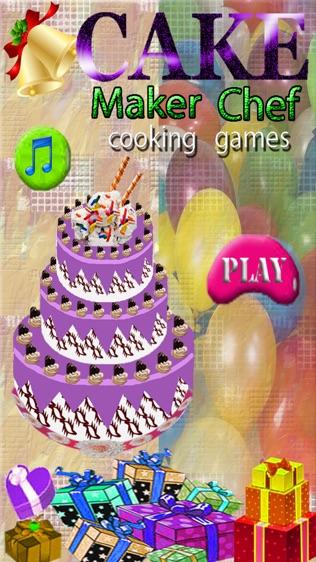 蛋糕制造者厨师烹饪游戏,婚礼,生日派对软件截图2