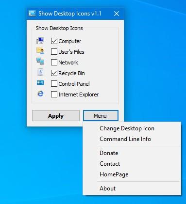 Show Desktop Icon(显示桌面图标软件)下载