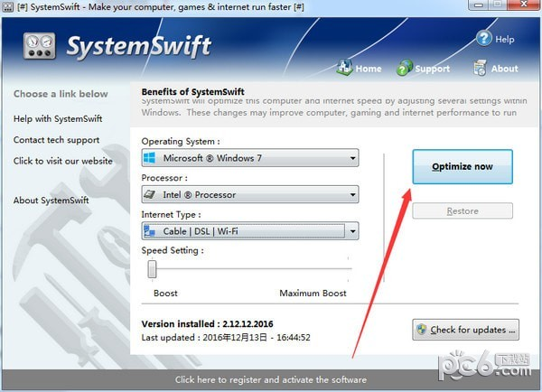 SystemSwift(电脑速度优化软件)下载