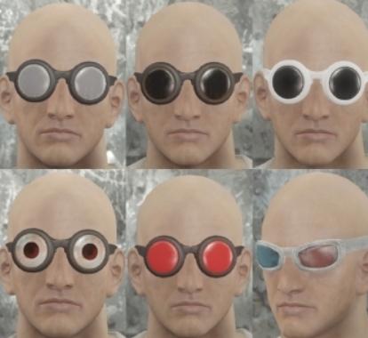 辐射4巴尔干圆形眼镜MOD下载