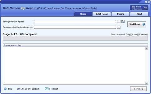 DataNumen Zip Repair(压缩包损坏修复工具)下载