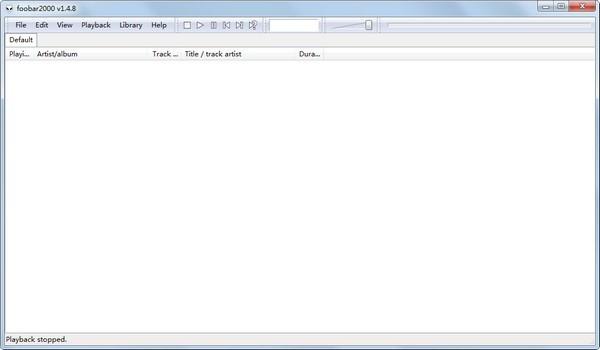 Foobar2000(音乐播放器)下载