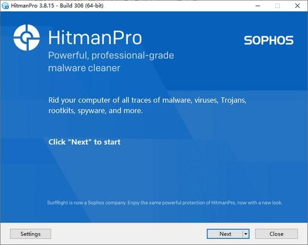HitmanPro(反病毒扫描工具)下载