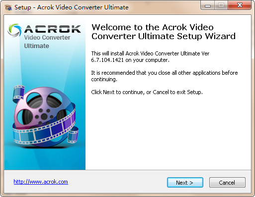 Acrok Video Converter Ultimate(视频格式转换器)下载