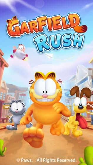 加菲猫跑酷软件截图0