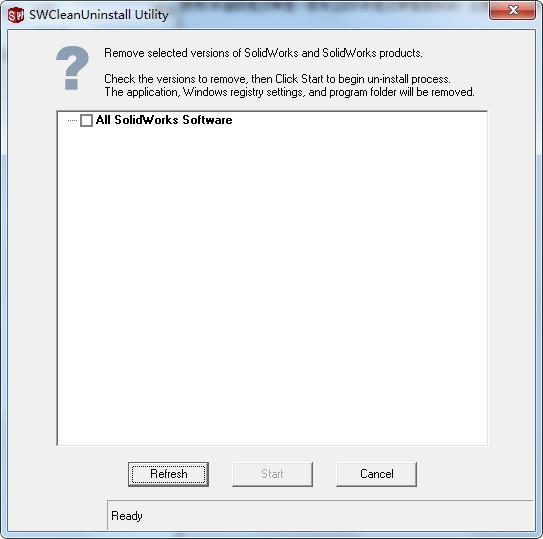 SolidWorks完全清理工具(SWCleanUninstall)下载