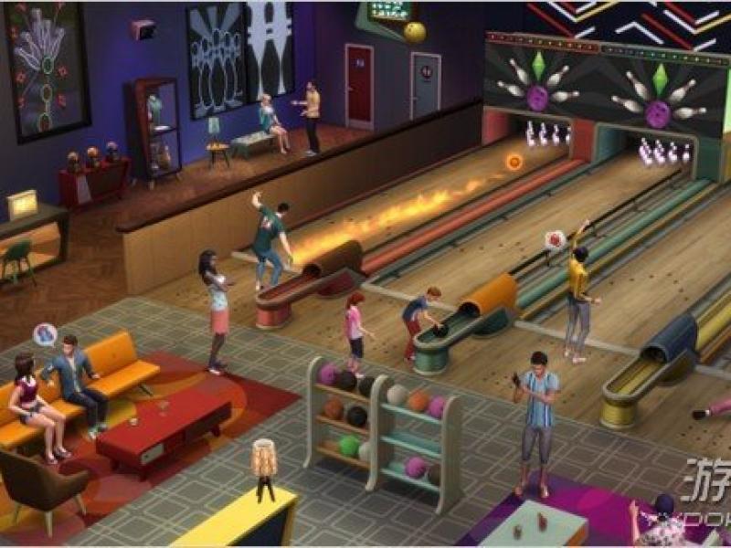 模拟人生4:午夜保龄球俱乐部 中文版下载