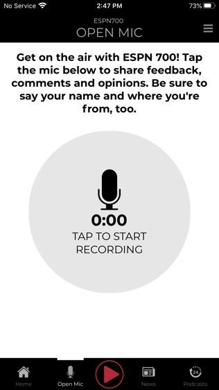 ESPN 700 Radio软件截图2