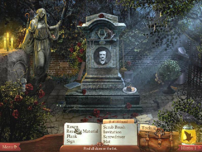 午夜迷踪:爱伦坡谋杀案 英文版下载